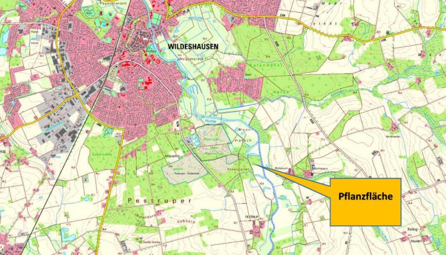 Standort der Projektfläche