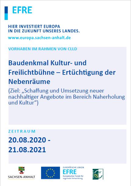Plakat Egeln Freilichtbühne Wasserburg