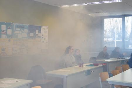 Nebelaktion Klasse 10