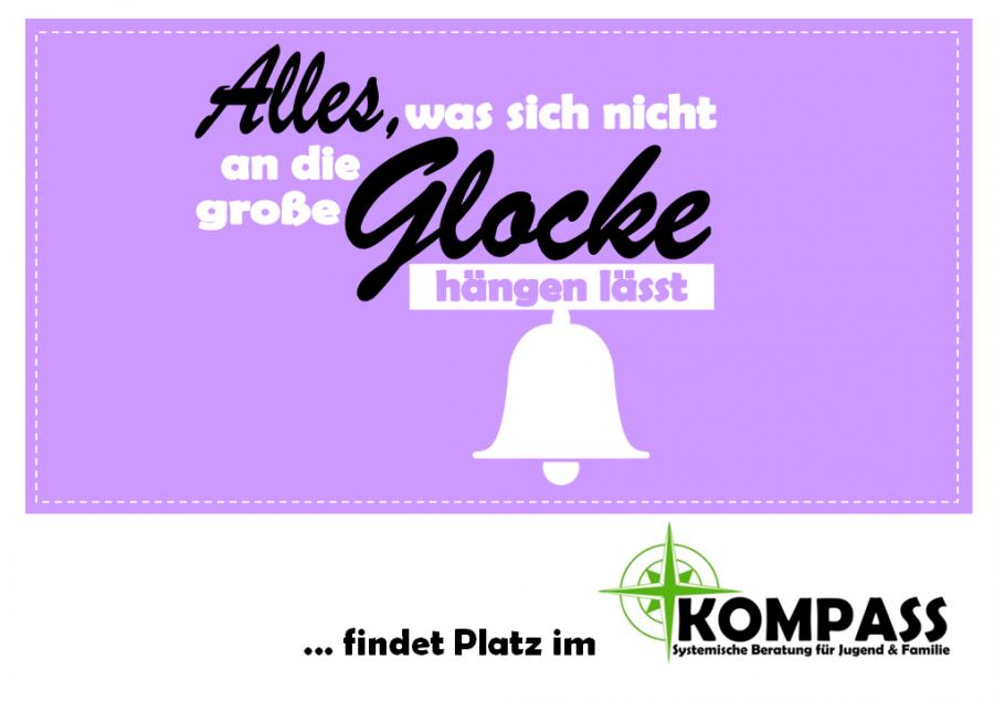 Postkarte - Glocke