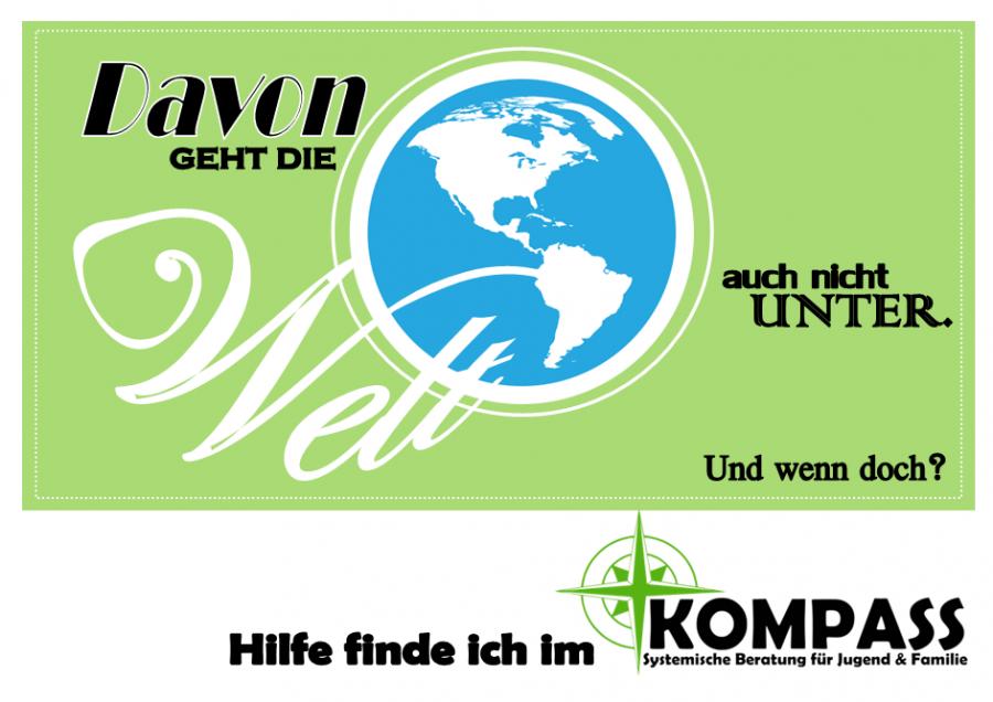 Postkarte - Welt