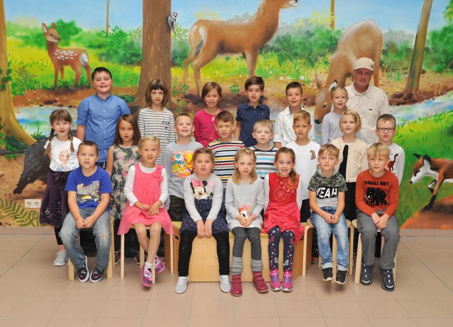 Klasse 1b mit Herrn Brüsch