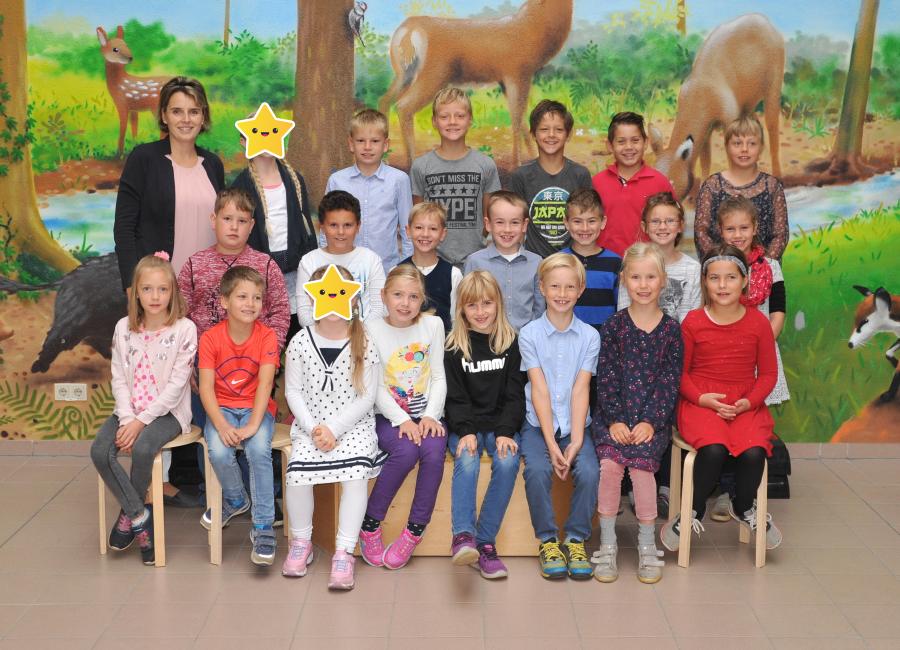 Klasse 2b mit Frau Lüttig