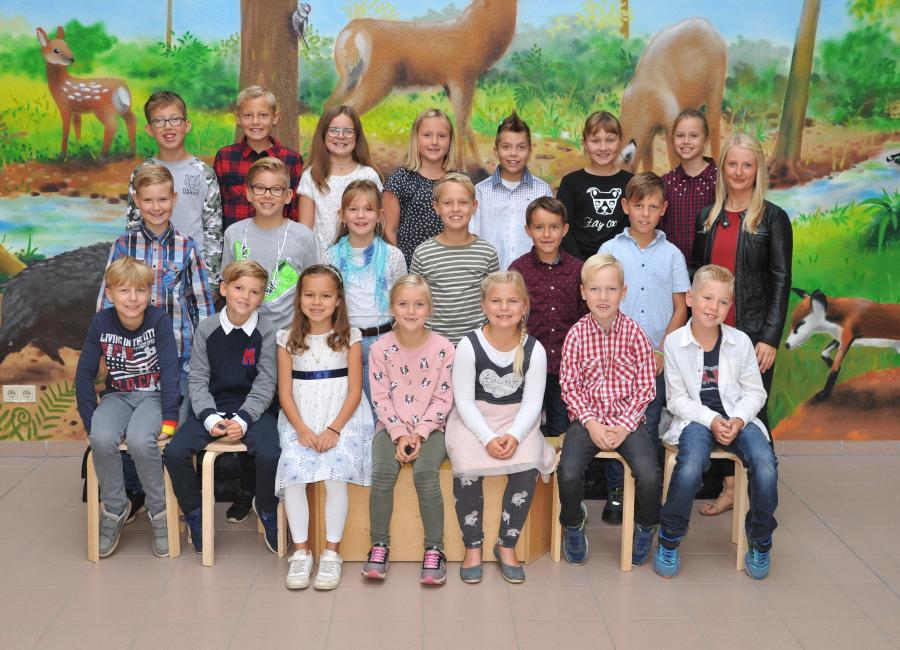 Klasse 3b mit Frau Neik