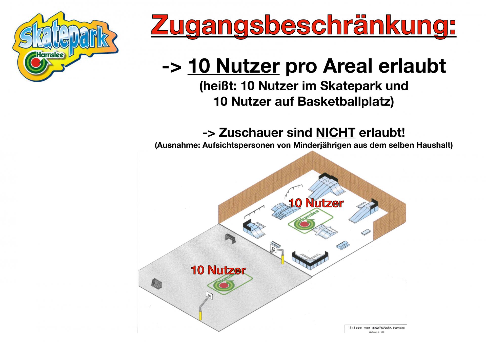 Zugang Skatepark 3/2021