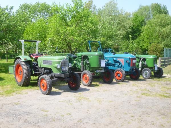 Trecker, Traktoren