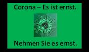 Informationen - Corona