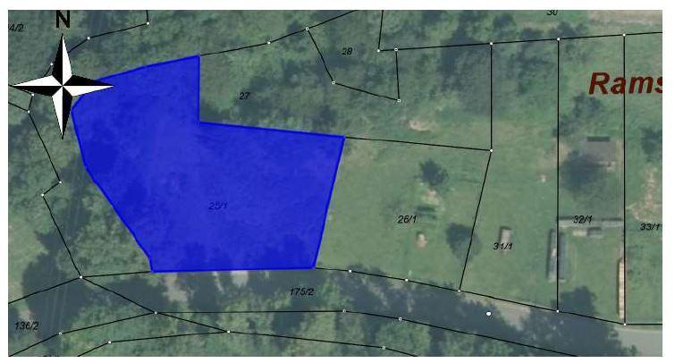 potentielles Bauland mit Nähe zum Dorfkern +Waldgrundstück, 1899 m² +Waldgrundstück, 659 m²
