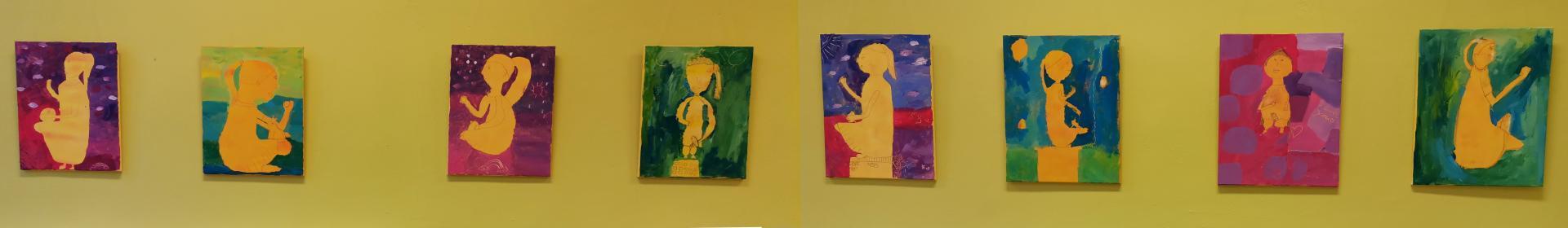 Kunstprojekt der 4. Klassen