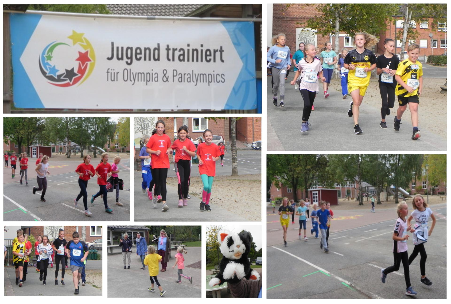 Collage Lauftag