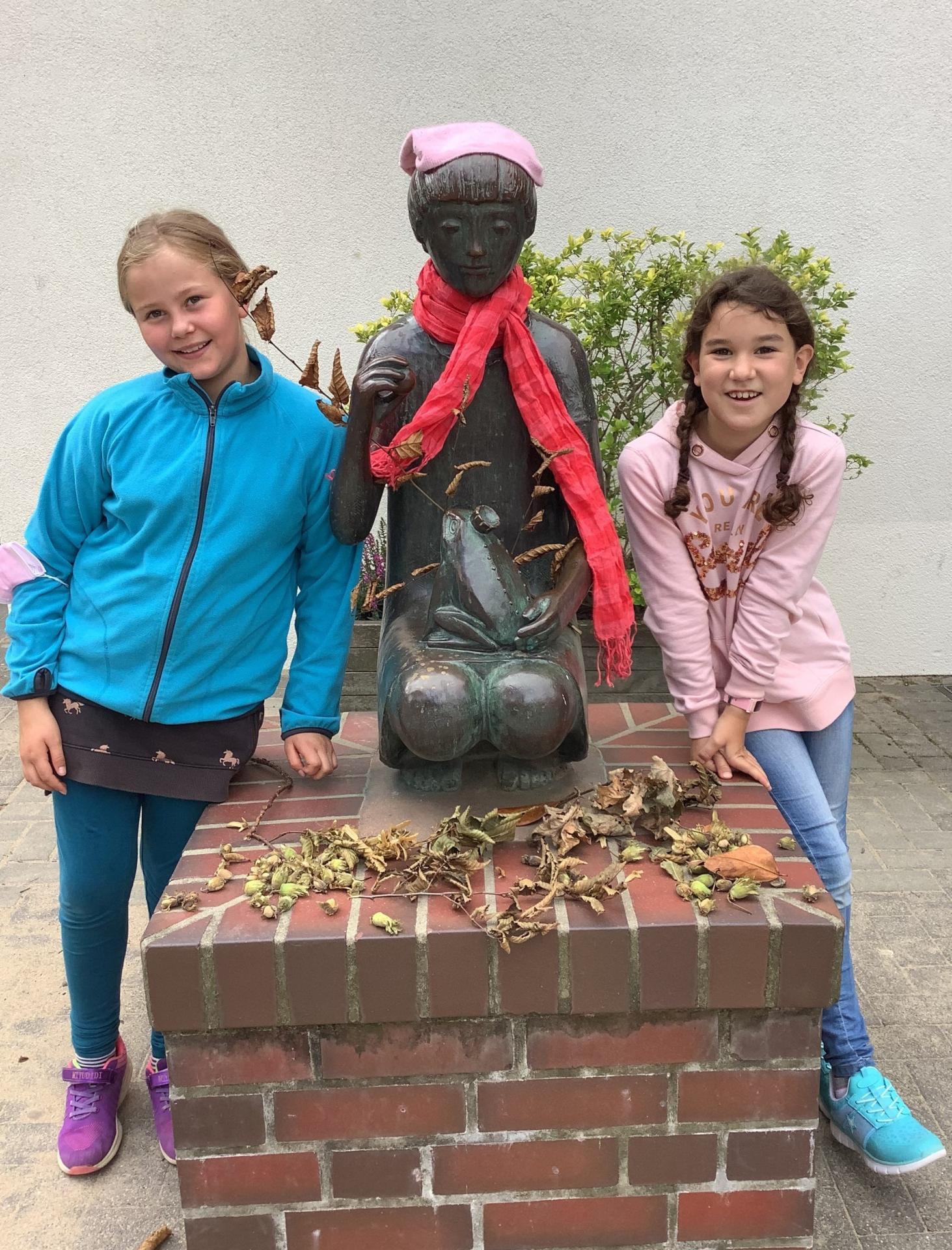 Herbstmädchen mit Emma und Luisa