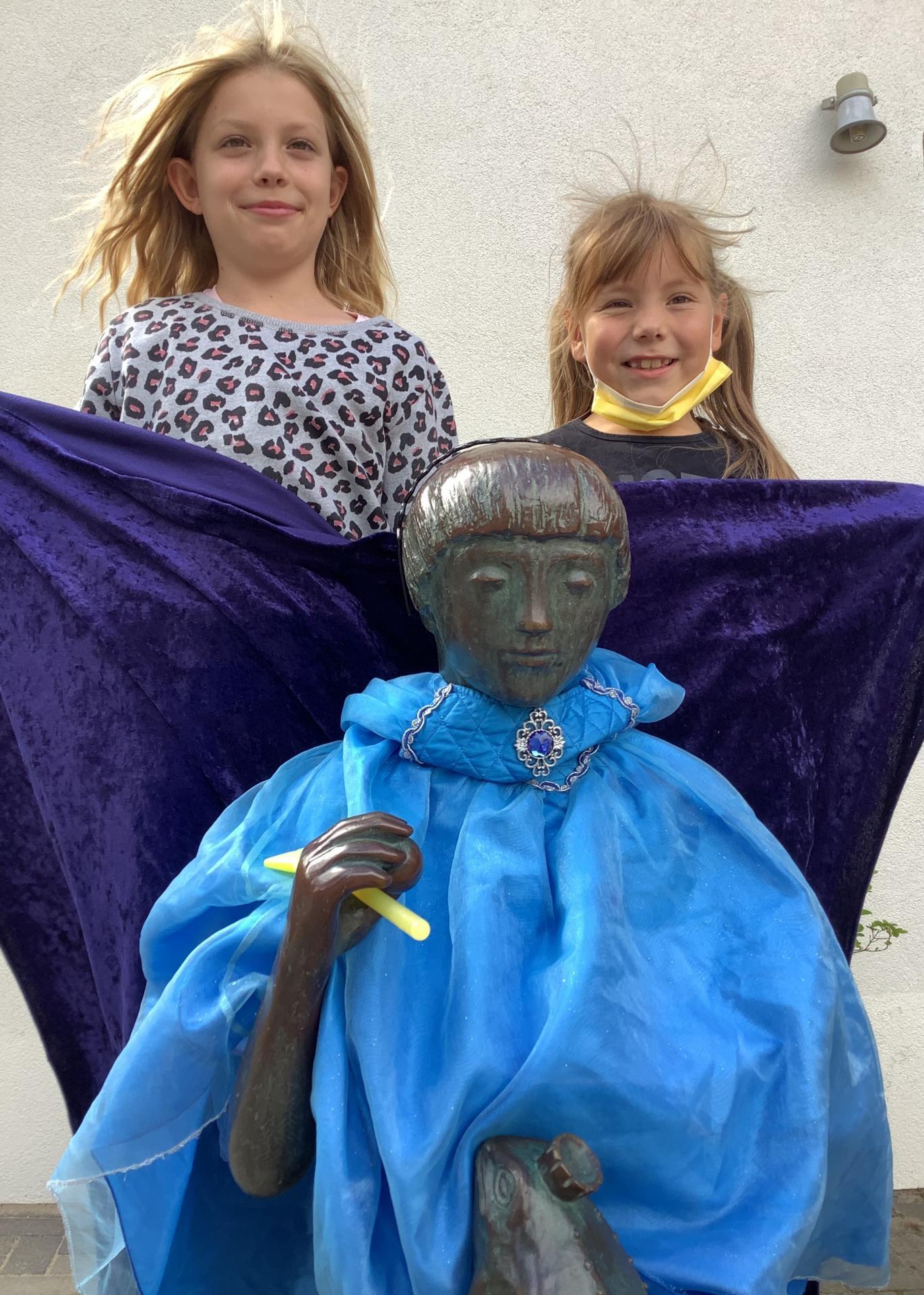 Prinzessin mit Mia und Lina