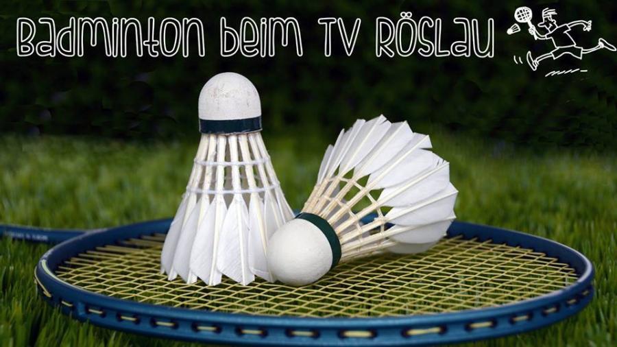 Badminton beim TV Röslau