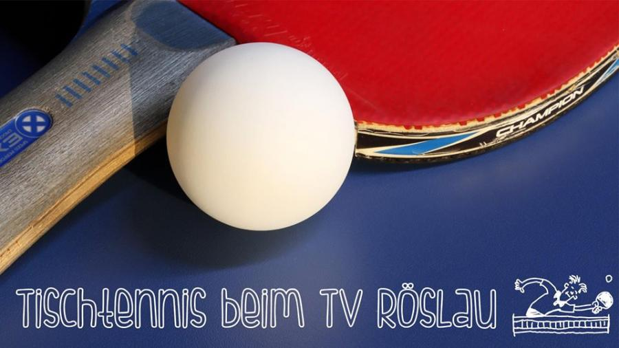 Tischtennis beim TV Röslau