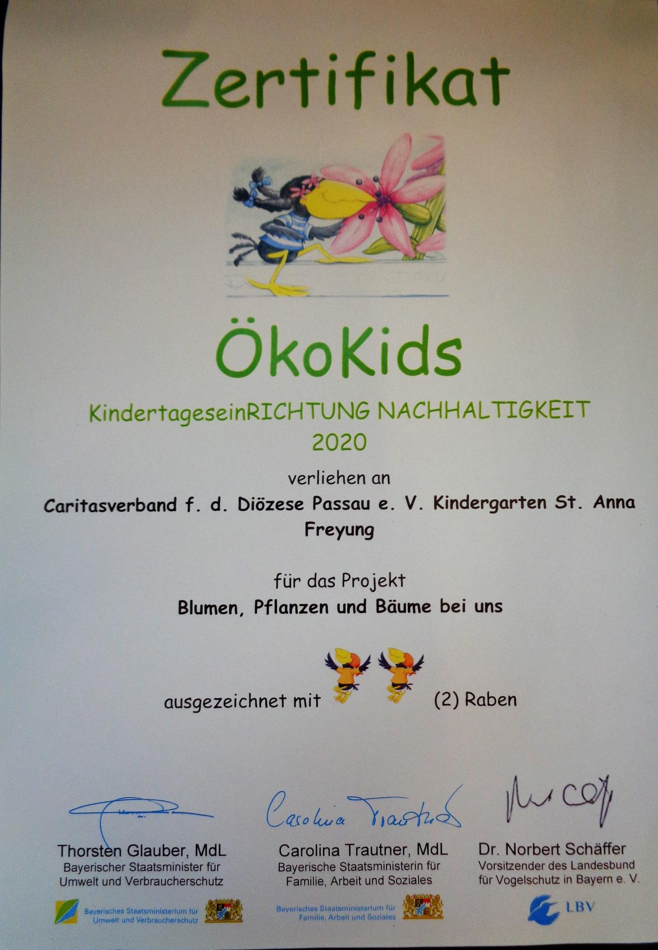 Öko Kids 2020