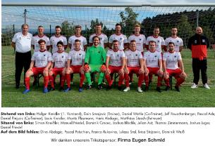 Bild 1. Mannschaft Saison 20-21