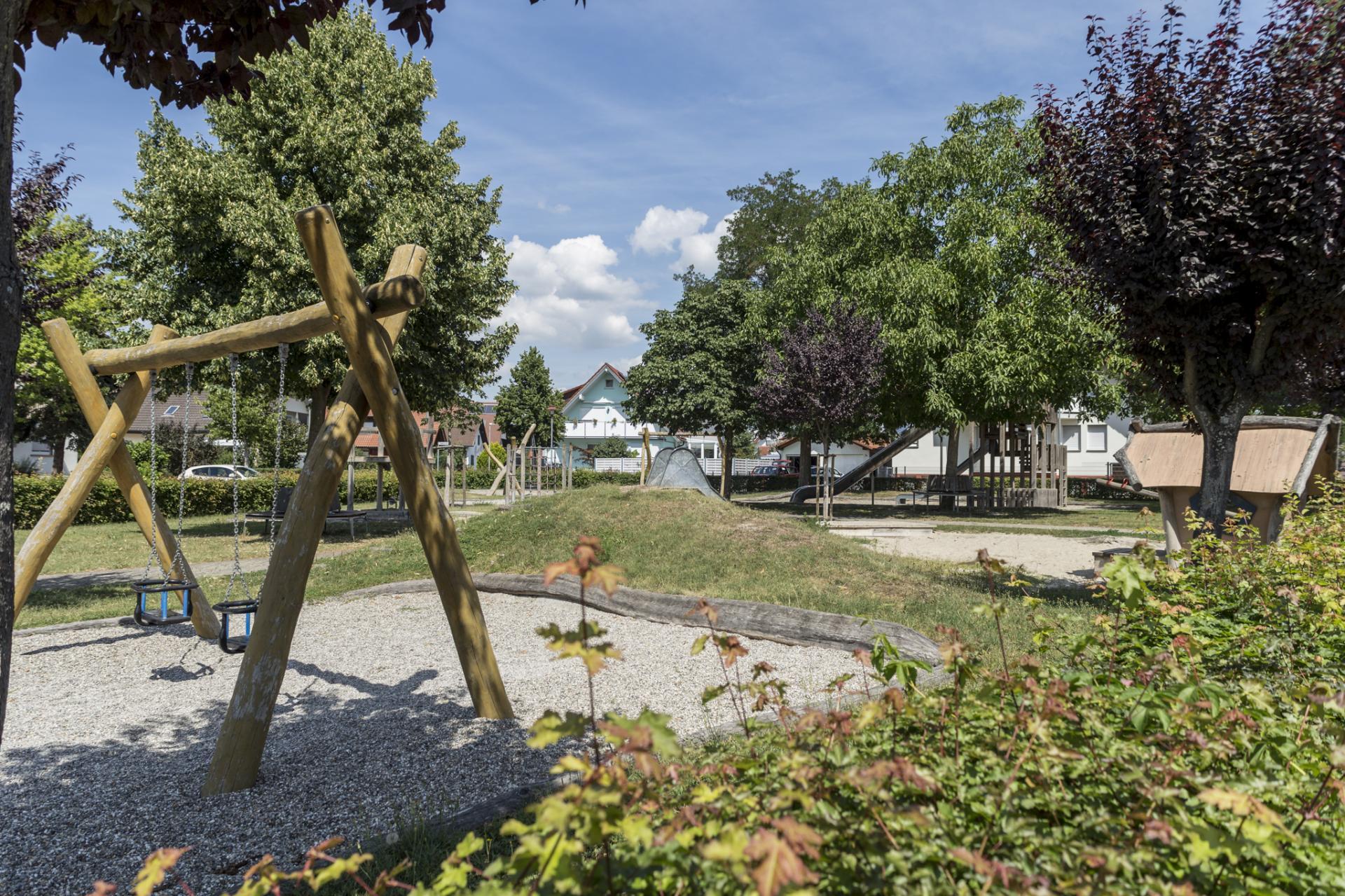 Spielplatz Wyhlertal Grube