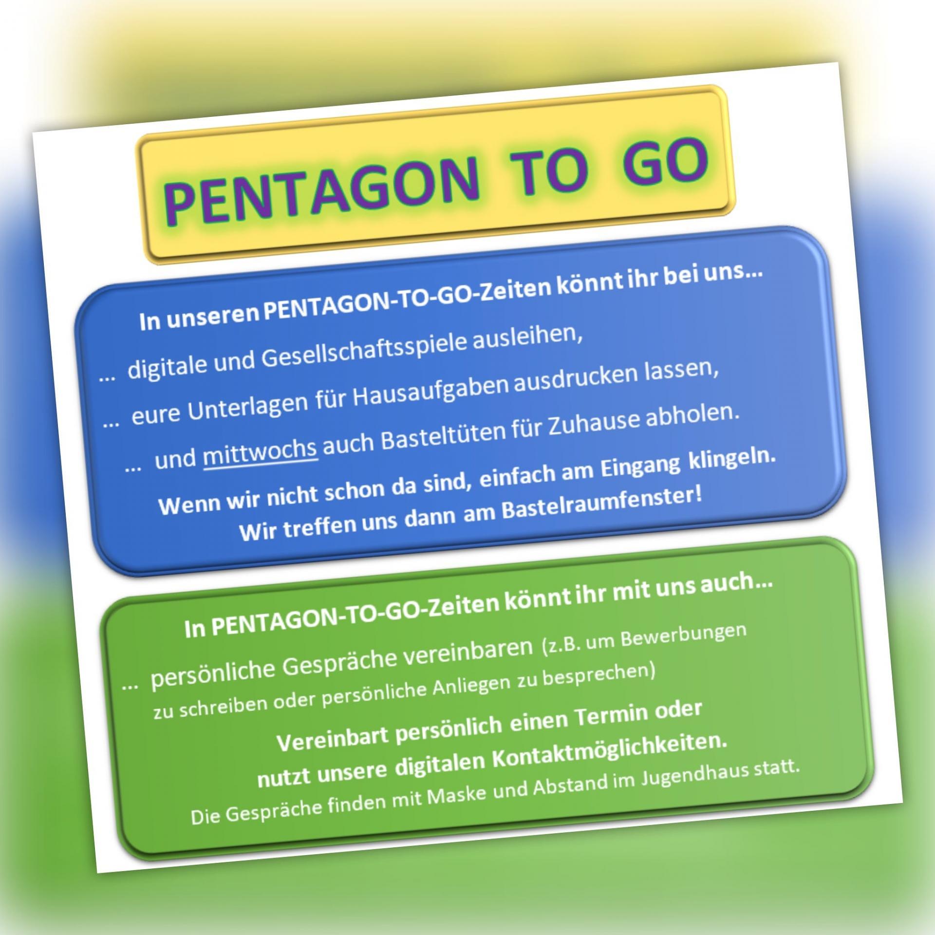 Pentagon to go