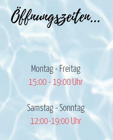 Öffnung Ferien
