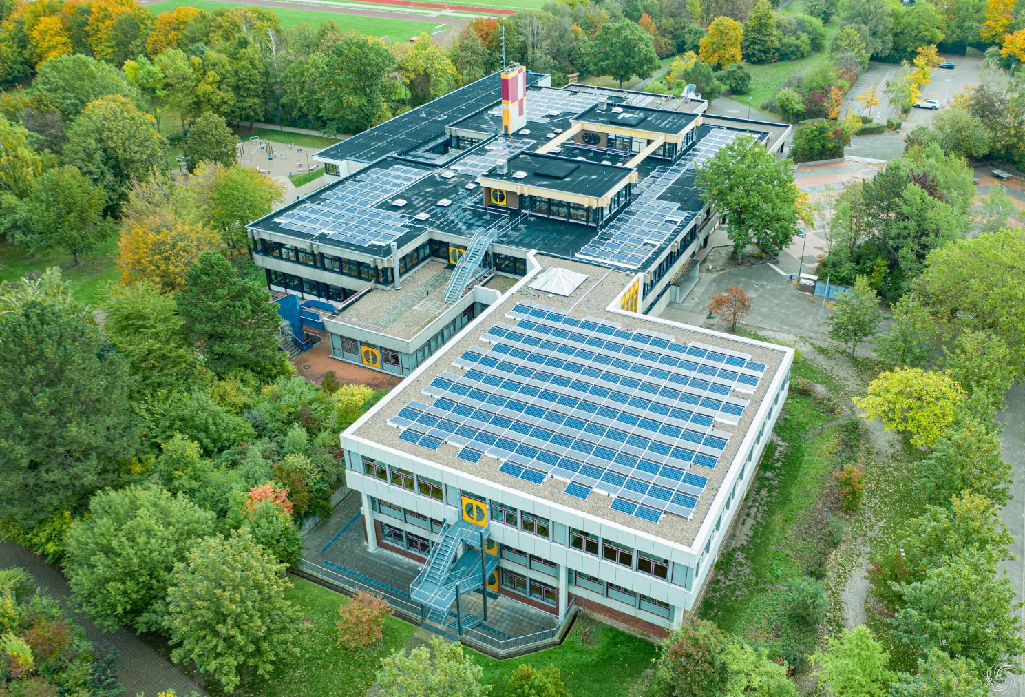 Bürger-Solaranlage Gymnasium Bad Nenndorf