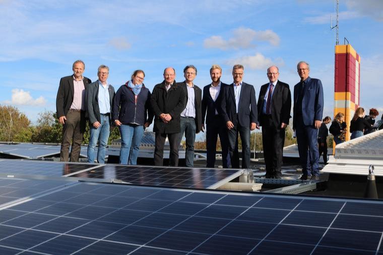 Solarmodule auf dem GBN