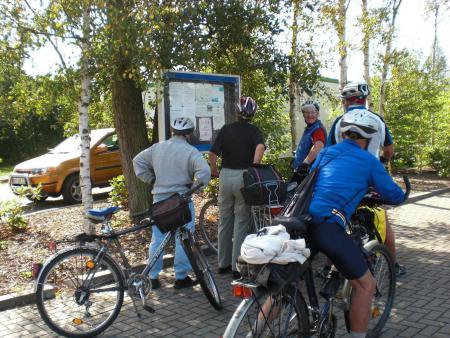 Wasserwanderrastplatz Marlow - Radfahrer