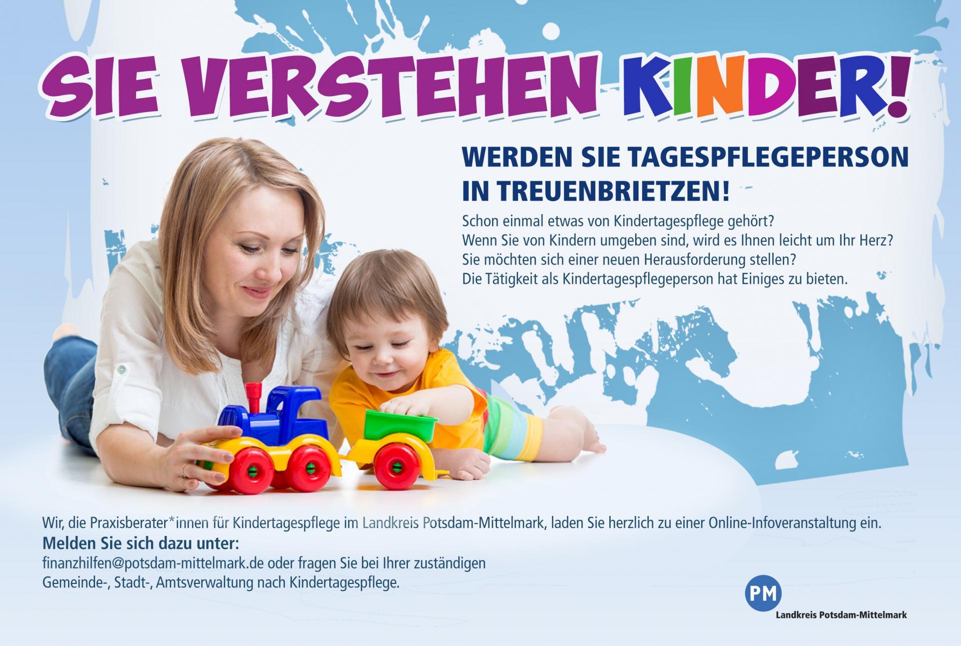 Sie verstehen Kinder! (Foto: Landkreis Potsdam-Mittelmark)