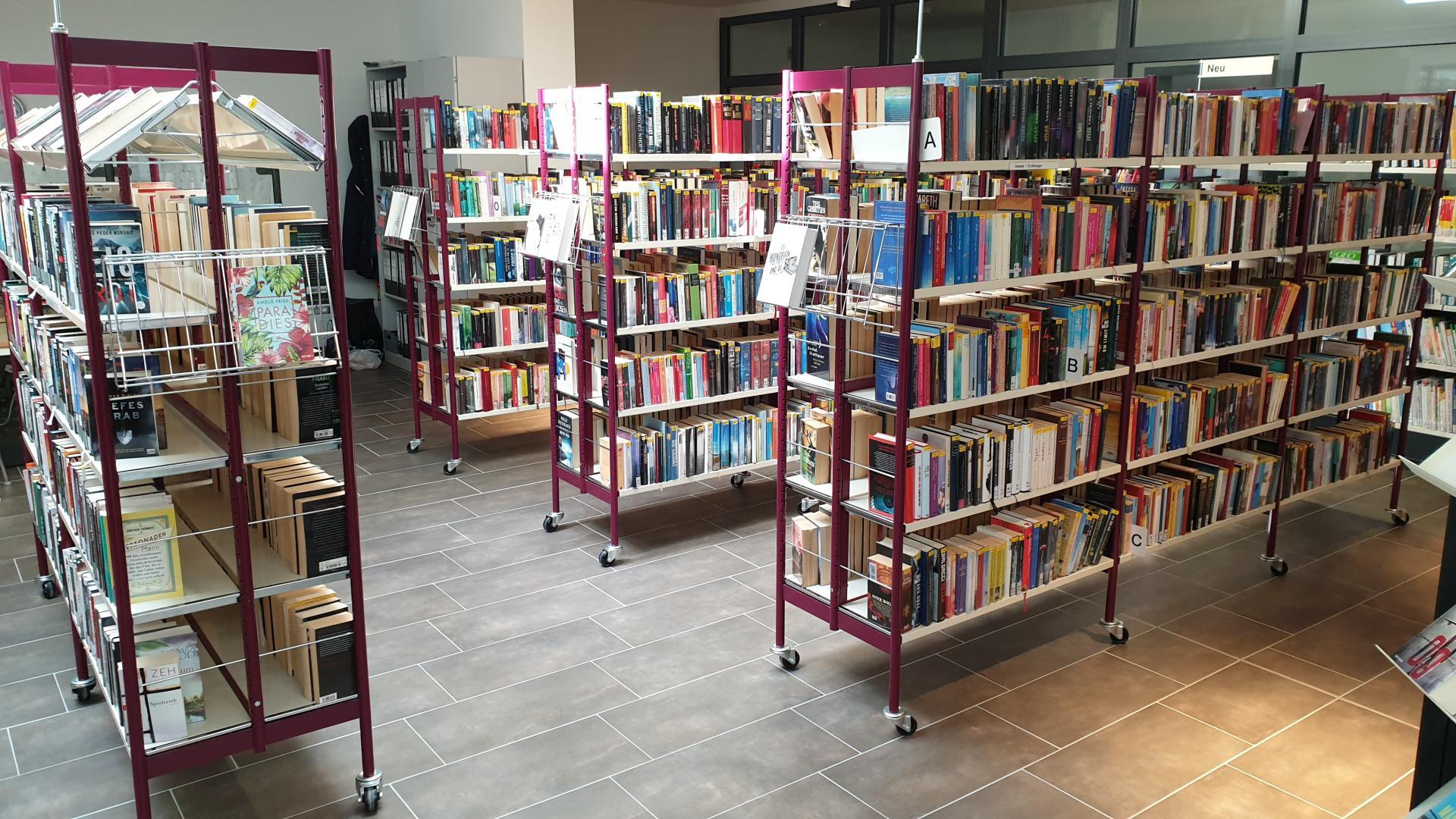 Stadtbibliothek Treuenbrietzen Innenansicht (Foto: Stadtverwaltung Treuenbrietzen)