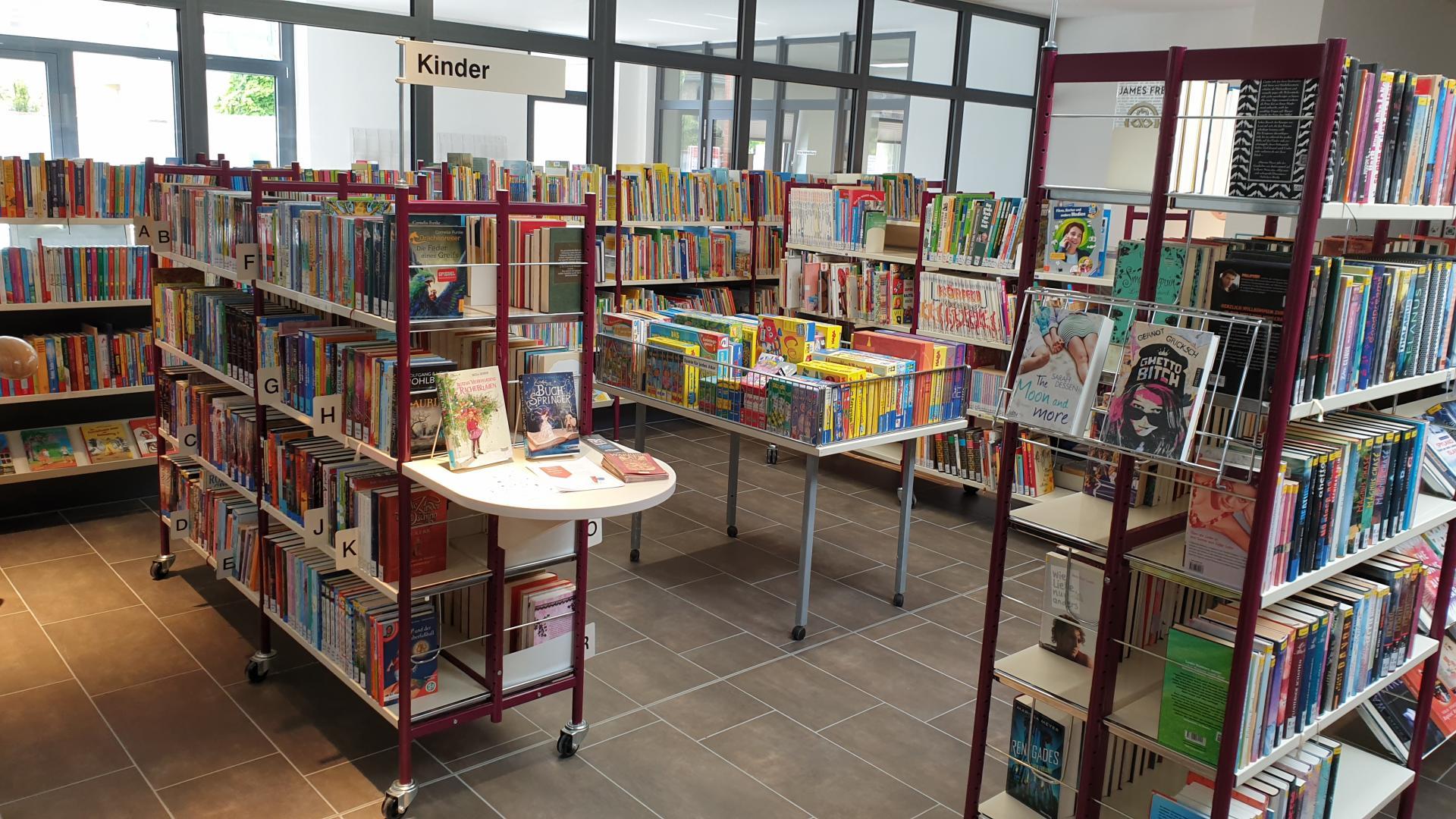 Stadtbibliothek Treuenbrietzen Kinderbereich (Foto: Stadtverwaltung Treuenbrietzen)