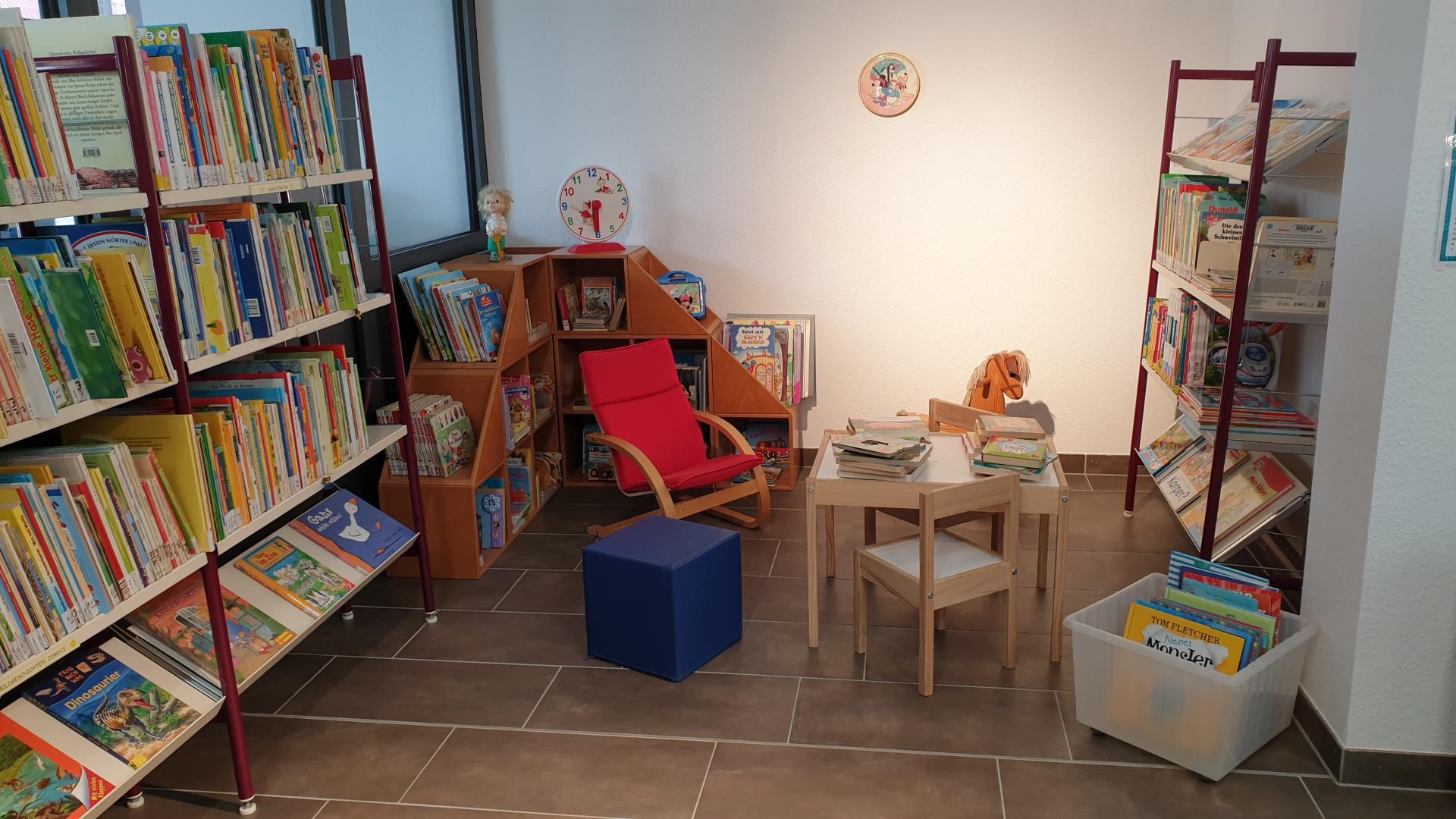 Stadtbibliothek Treuenbrietzen Kinderleseecke (Foto: Stadtverwaltung Treuenbrietzen)