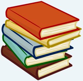 Bücherstapel Bibliothek
