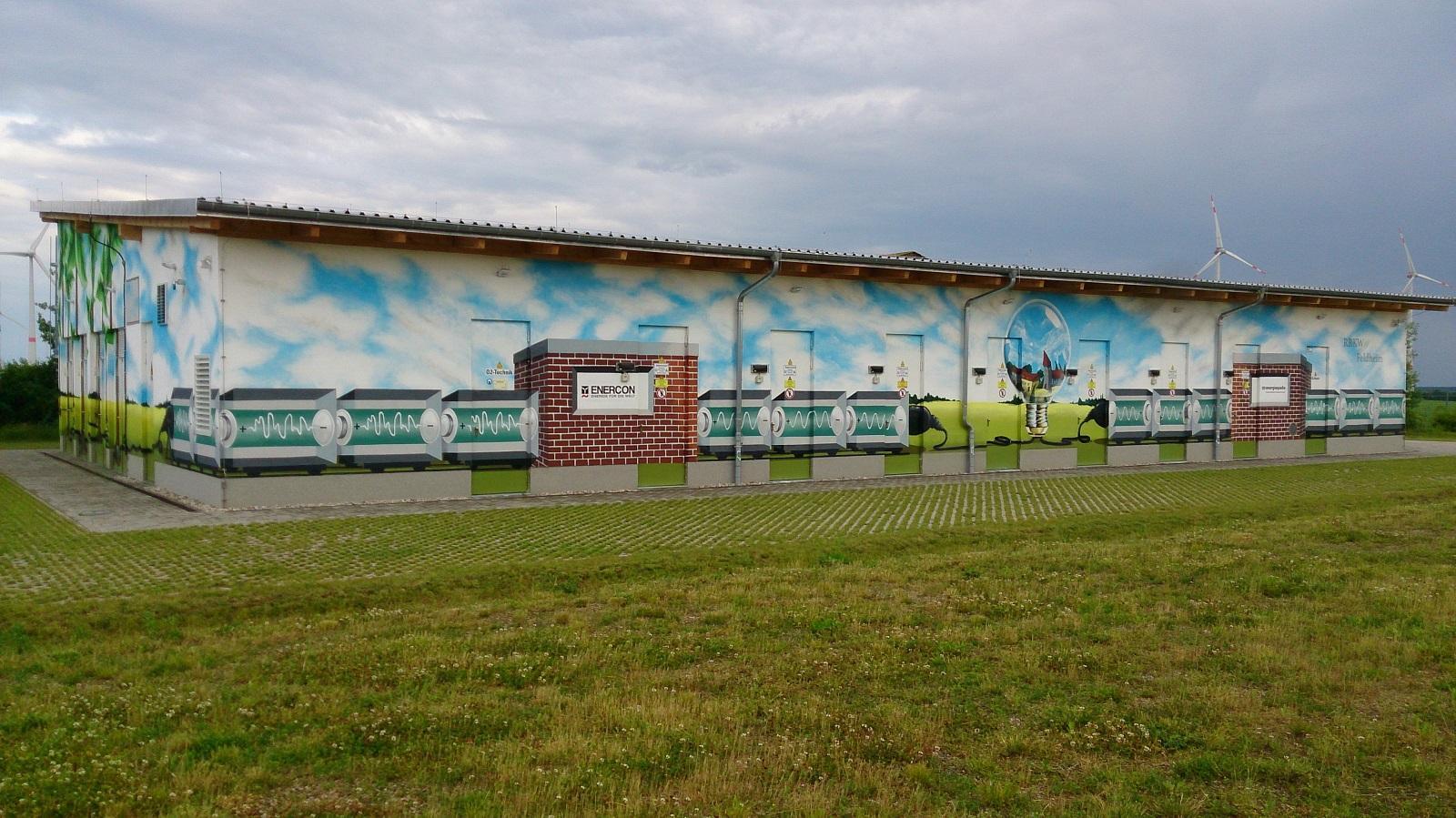 Energiespeicher Feldheim (Foto: Petra Richter)