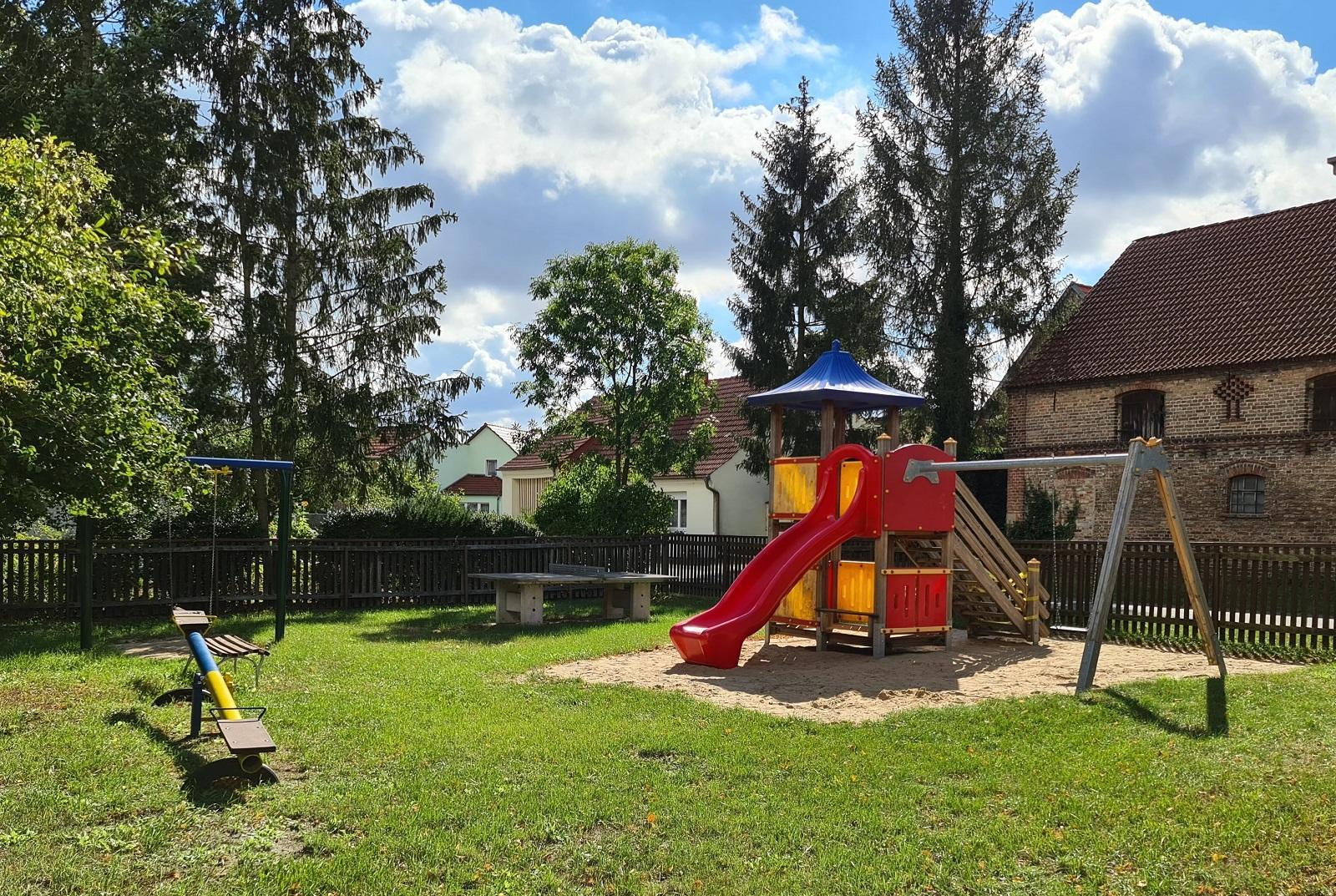 Spielplatz Lühsdorf (Foto: Stadtverwaltung Treuenbrietzen)