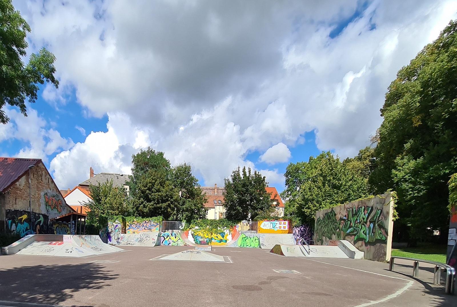 Spielpark Treuenbrietzen Halfpipe (Fotos: Stadtverwaltung Treuenbrietzen)