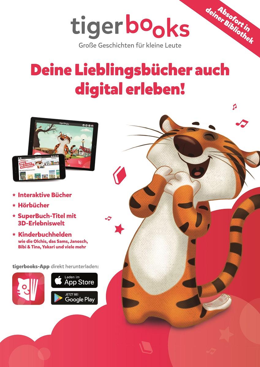 tigerbooks (Plakatrechte: tigermedia Deutschland GmbH, Hamburg)