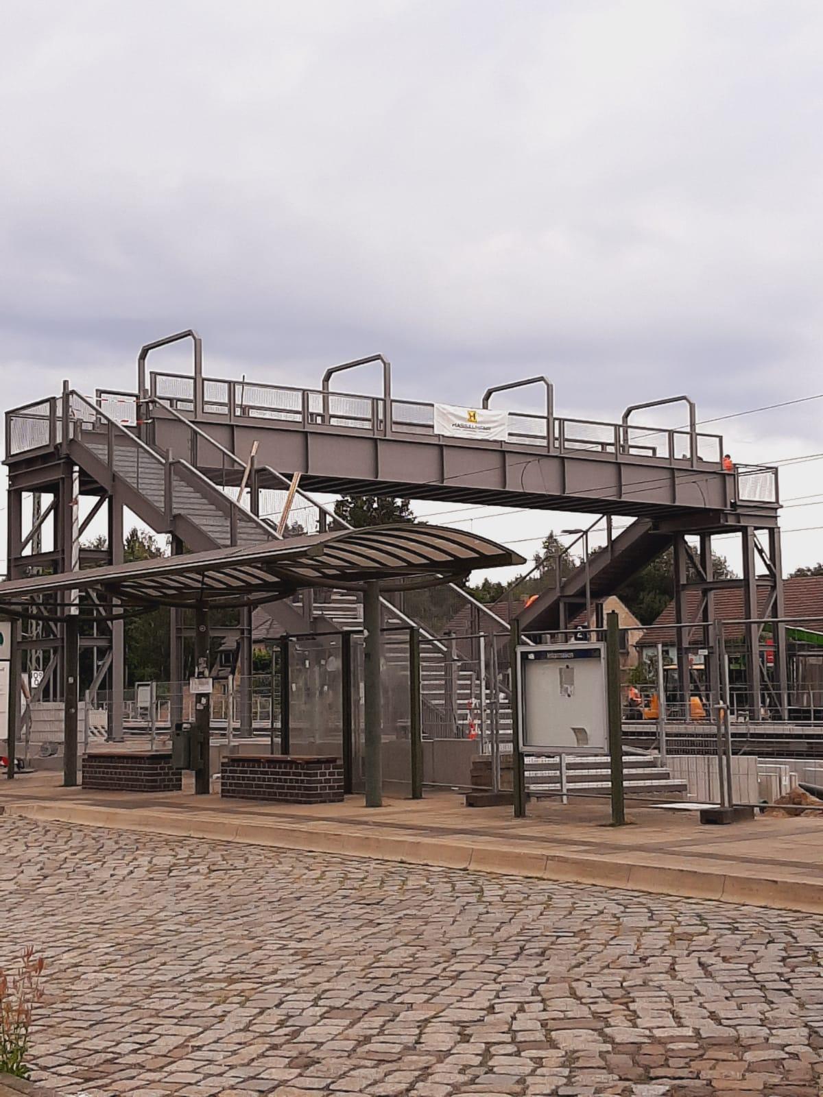 Personenüberführung Bahnhof Lauchhammer