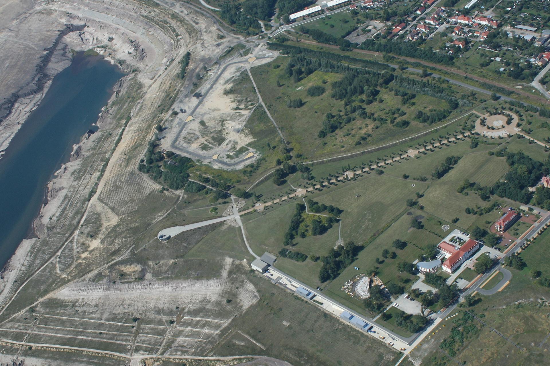 Luftbild Alma 2009