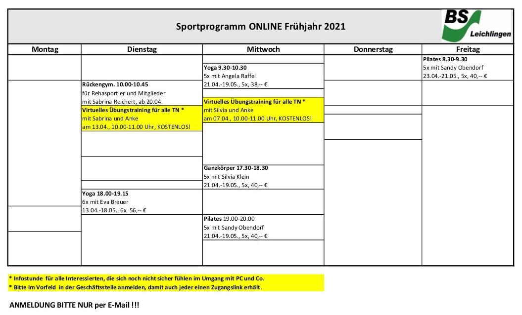 Onlinekurse_Frühjahr 2021