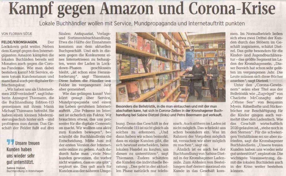 Kieler Nachrichten, 08.01.2021 02