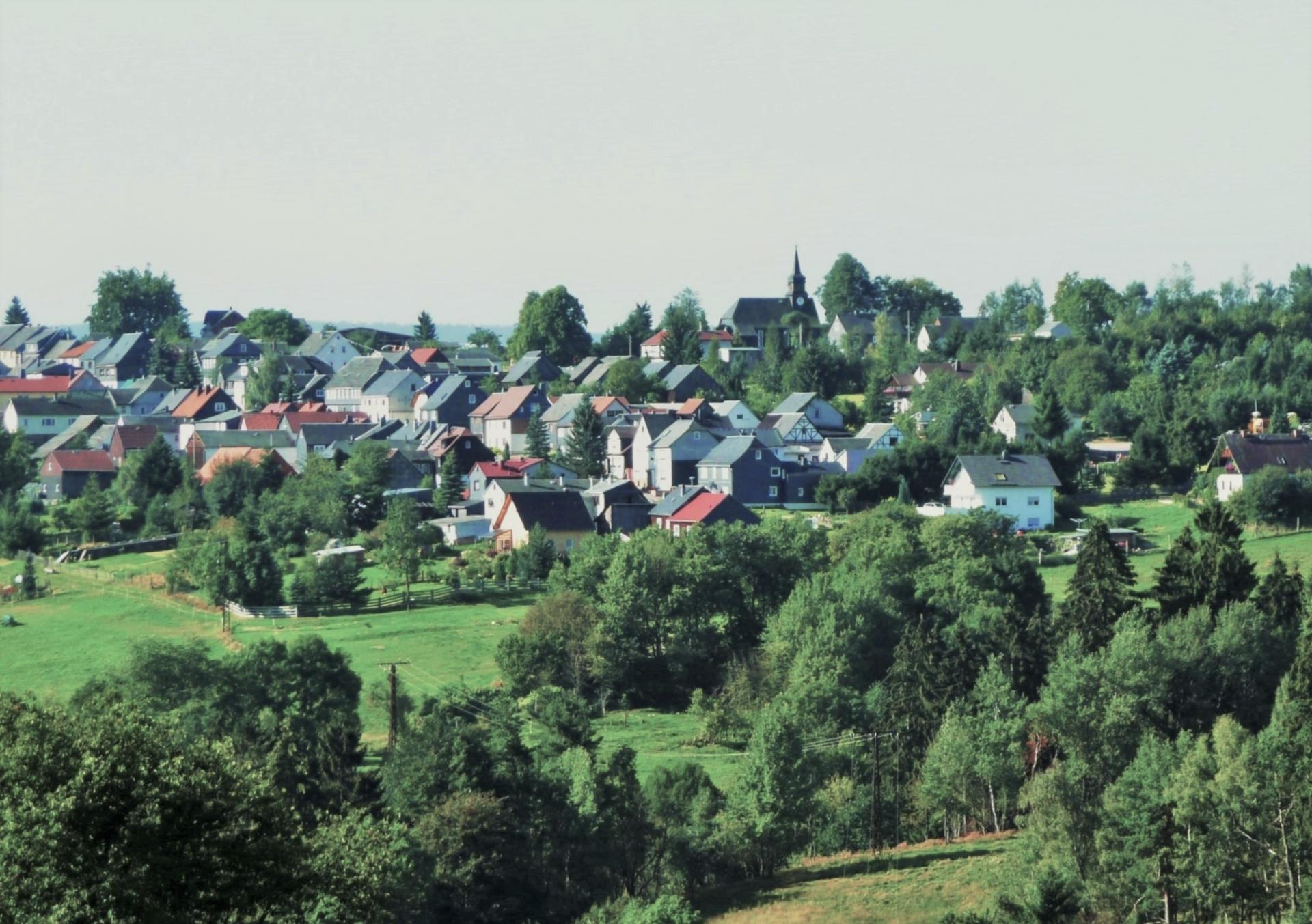 Willmersdorf von Herschdorf aus