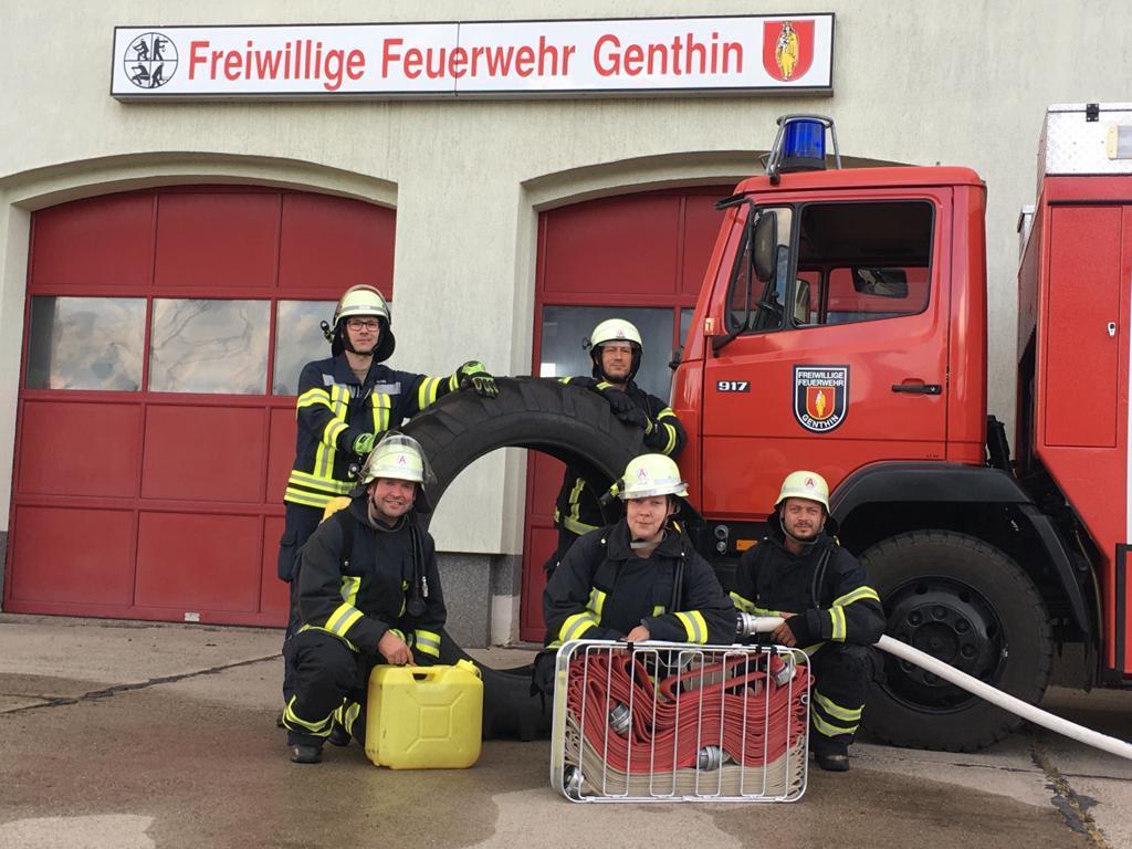 Fit wie die Feuerwehr
