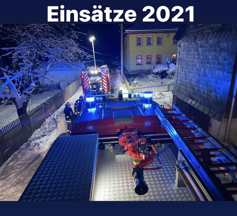 Einsätze 2021