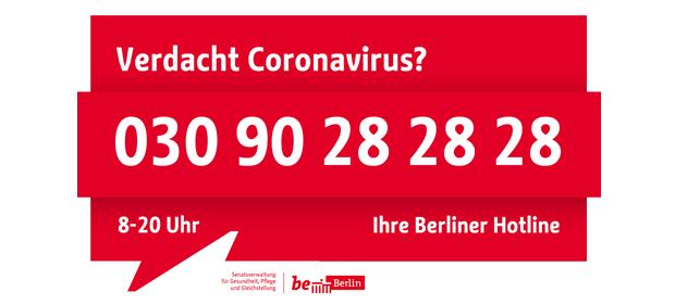 Corona-Hotline Berlin