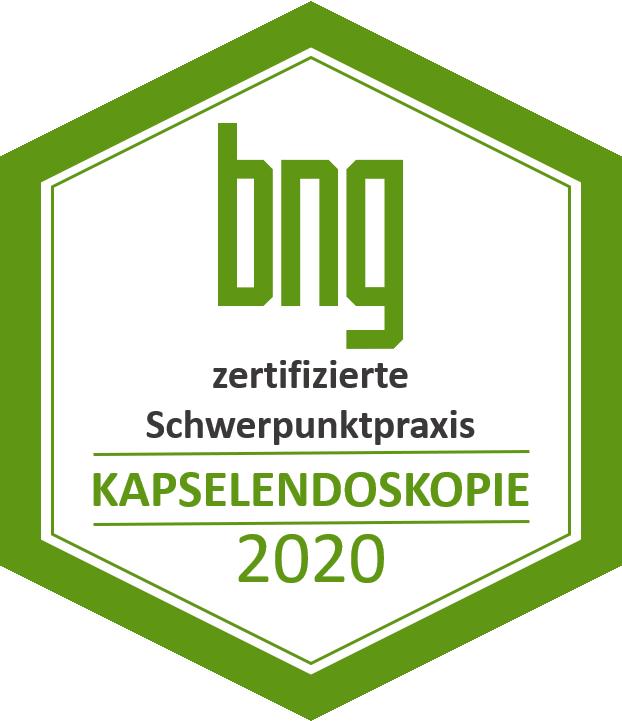 2020 Kapsel-Zertifikat