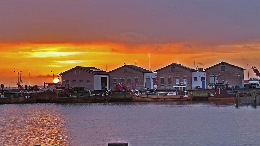 Stahlbrode Sonnenaufgang