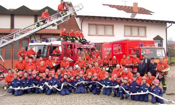 Mannschaft 2010 rot