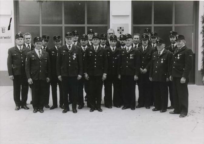 Mannschaft Wasenweiler 1974