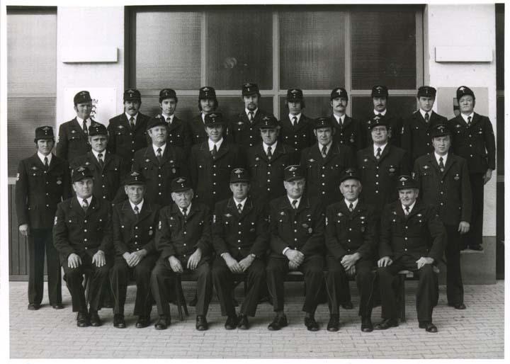 Mannschaft Wasenweiler 1977