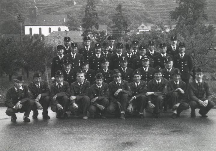 Mannschaft Wasenweiler 1986