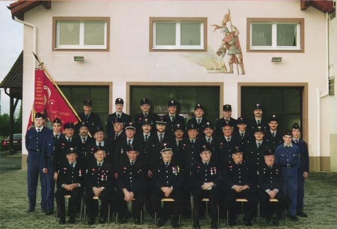 Mannschaft Wasenweiler 1992